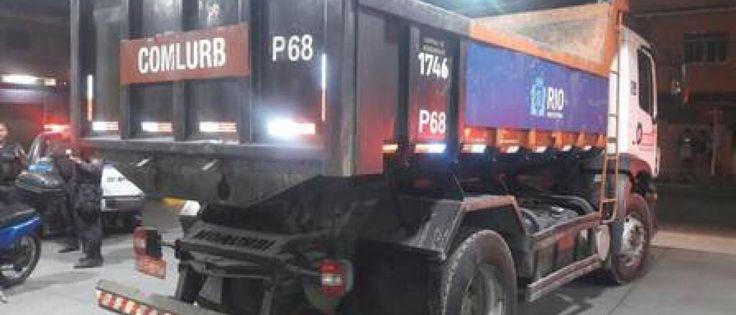 InfoNavWeb                       Informação, Notícias,Videos, Diversão, Games e Tecnologia.  : Bandidos usam caminhão da Prefeitura do RJ para ro...