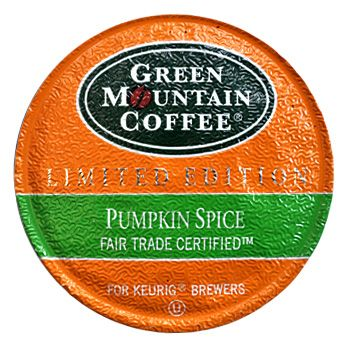 This makes me so friggin happy!! Green Mountain Coffee Pumpkin Spice K-Cups 24ct Seasonal