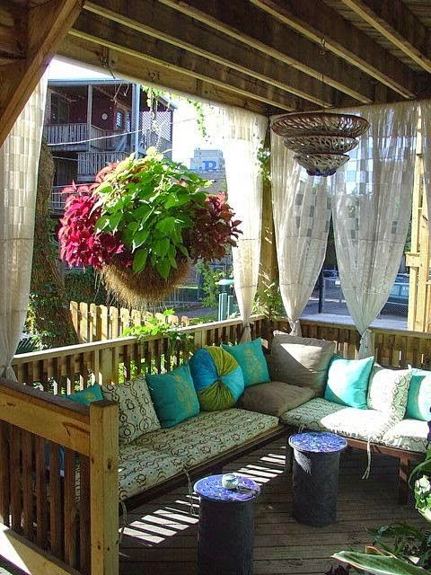 Back Deck Hanging Basket         |          Outdoor Areas