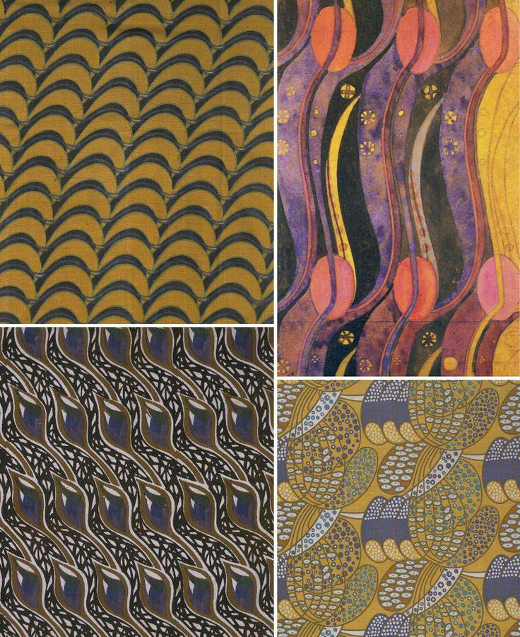 Charles Rennie Mackintosh -an architect turned textile print designer in a bad economy.