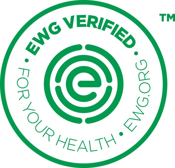 """The EWG VERIFIED: For Your HealthTM mark will help shoppers quickly and easily identify personal care products, including cosmetics, that meet EWG's strictest standards while shopping in stores and online. Items bearing the mark must score in the """"green"""" range in EWG's Skin Deep® cosmetics database and meet additional criteria set by EWG scientists."""