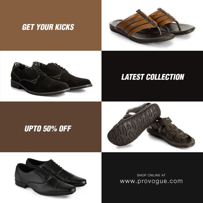 Shop Provogue's latest footwear collection at www.provogue.com or visit your nearest Provogue store