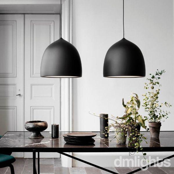 Lightyears suspence p2 mat zwart pendant lightspendant