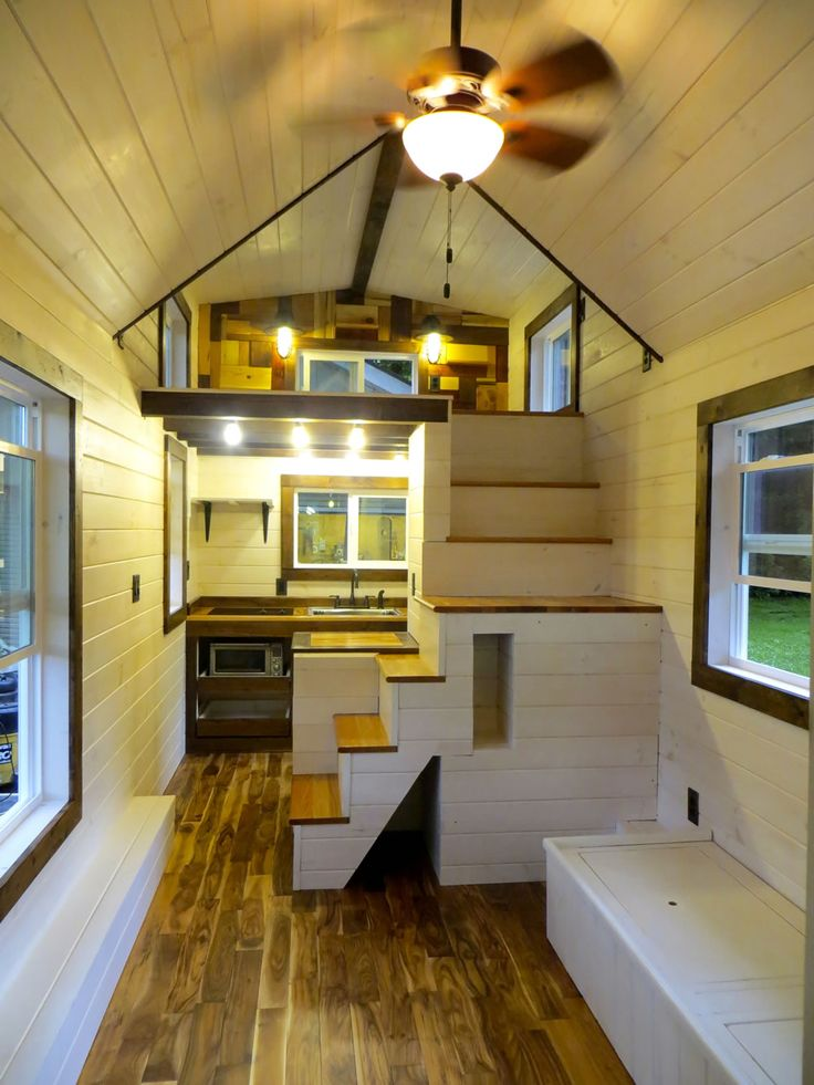Robins Nest Interior Brevard Tiny House Company