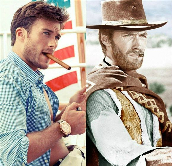 """Scott Eastwood has the very same smoldering, squinty-eyed masculinity that his dad, Clint, so effectively displayed in """"The Good, the Bad and the Ugly"""" way back in 1966. Which tots are currently the spitting…"""