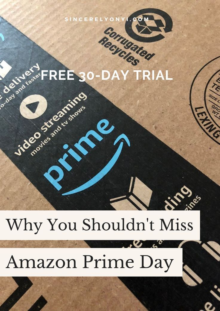 Why No One Should Miss Amazon Prime Day Amazon Prime Day Prime