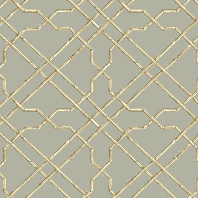 Bamboo Trellis Wallpaper in Grey design by York Wallcoverings. 17 Best ideas about Bamboo Wallpaper on Pinterest   Bedroom