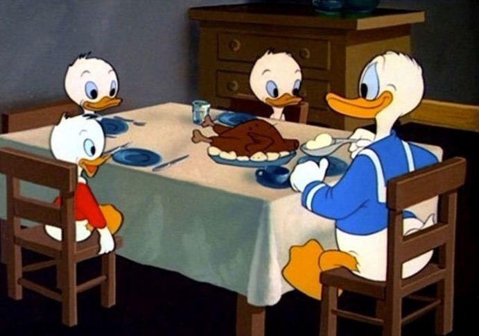 Divertidas Imagenes De La Logica En Las Caricaturas Pato Donald Memes Divertidos Caricaturas