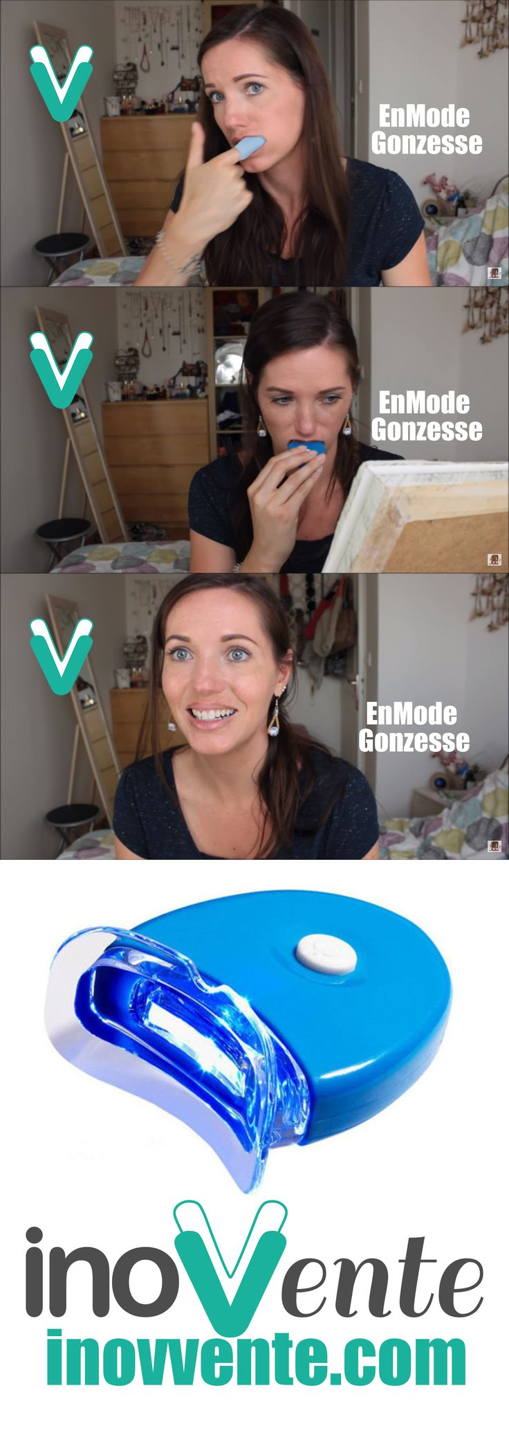 TEETH WITHENING BLANCHIMENT DES DENTS #cosmetic #makeup #beauty  http://inovvente.com/ventes-privee/dents-blanches