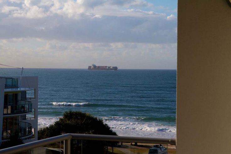 Merrima Court Holidays - View from Balcony - Caloundra Apartment Accommodation