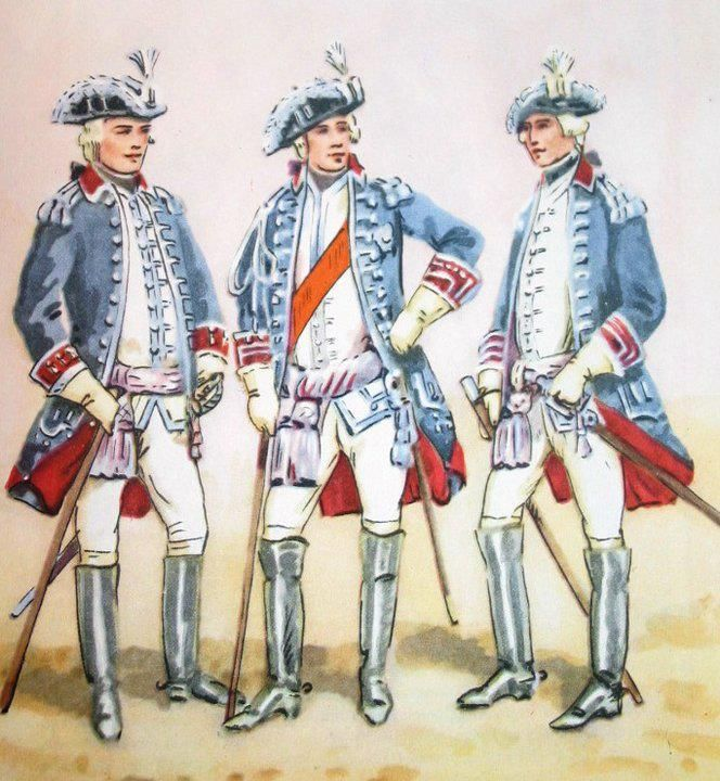 From left to right: Major General from 1777 to 1785 r. hetman, artyllery general . Fig. B. Gembarzewski.