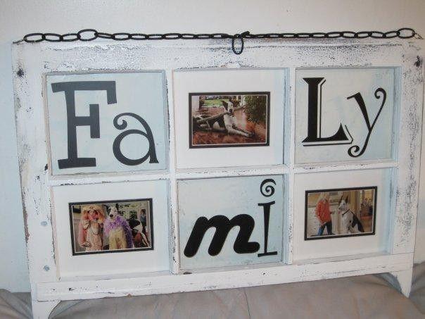 Custom Photo Frame Window
