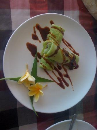 Good Balinese food...