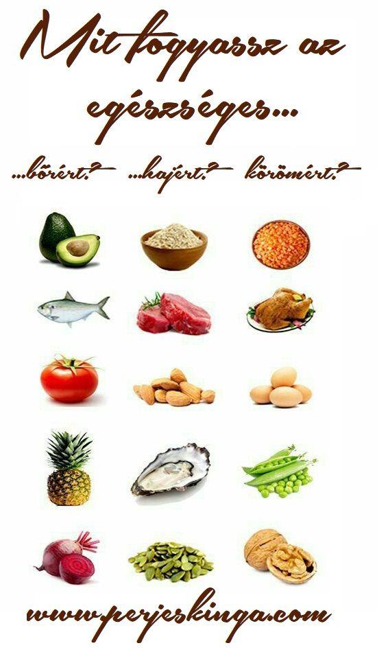 Mit fogyassz az egészséges bőrért, hajért, körömért? || www.perjeskinga.com