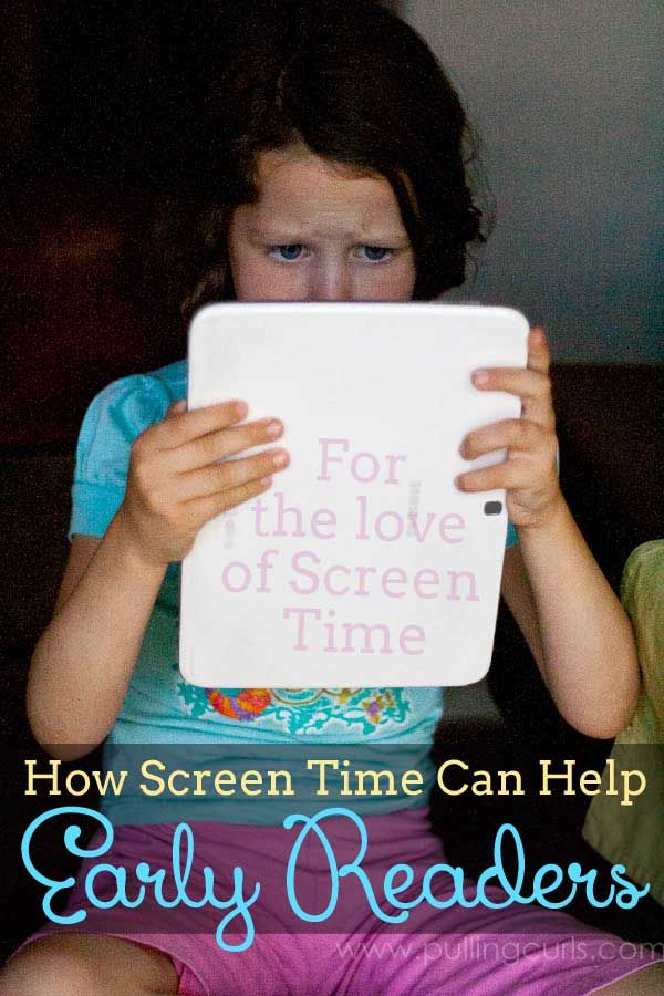 When kids choose reading, they're choosing to open their minds up to imagination and learning.  With all the screens available anymore it's time to really focus on turning screen time into learning time!