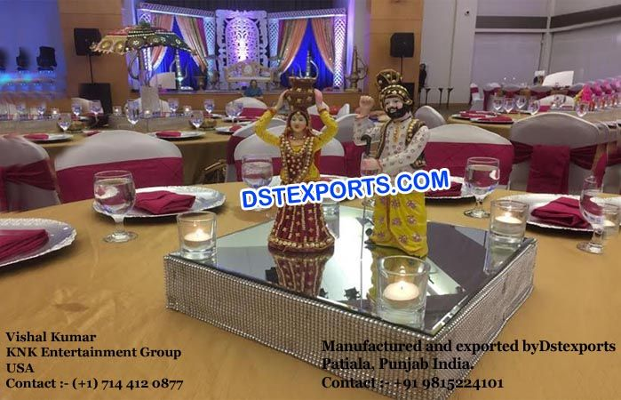 #Punjabi #Culture #Center #Table #Decoration #Statue #Dstexports