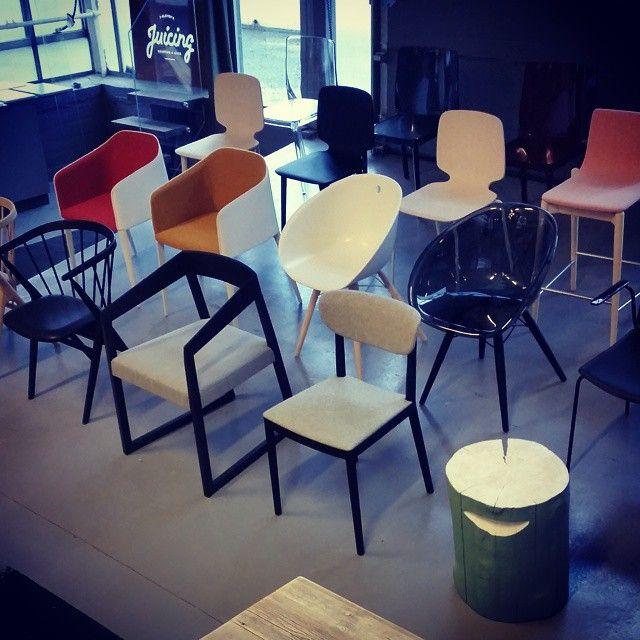#chairheaven i vårt #showroom på Ramstadsletta 18.  #stoler #stolbonanza #pedrali #sibastno8