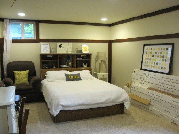 Large Basement Bedroom May 2011