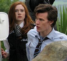 Matt Smith from Dr Who