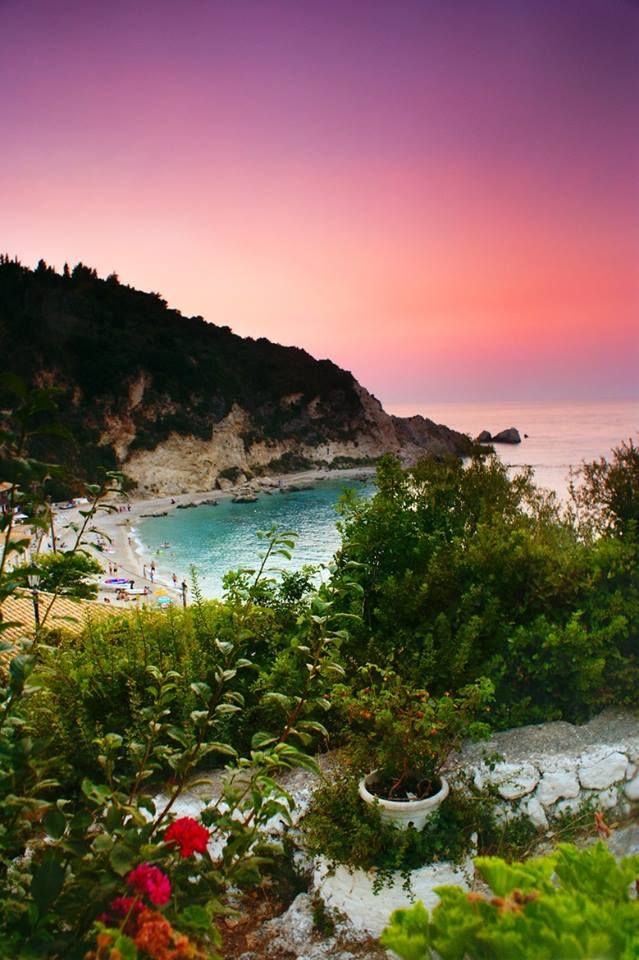 Agios Nikitas, Lefkada,Greece. Another favourite place on Lefkada best to visit out of season when less busy. Beautiful little village and pretty little beach. #MeinGriechenland