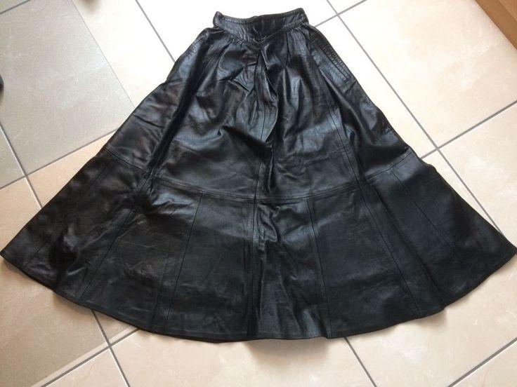 Nappa Lederrock schwarz