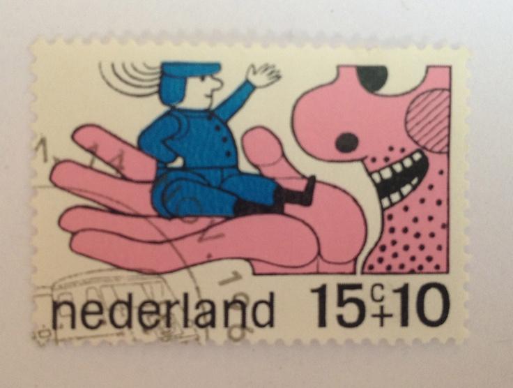 1968   Ootje Oxenaar   roze, blauw   reus