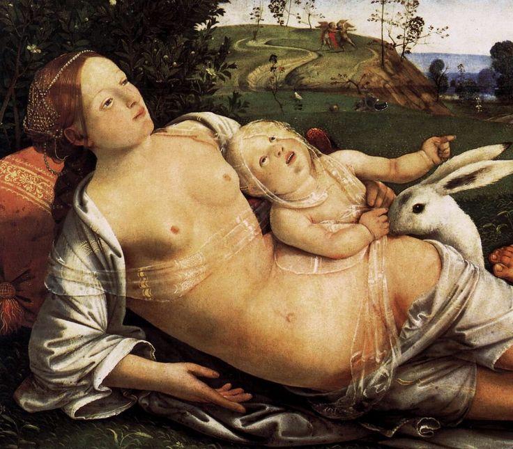 Venere, Marte e Cupido. 1490 Gemäldegalerie Berlin