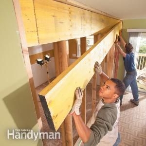 removing a load bearing wall and adding a header. want to do between living room and kitchen. #RemovalServices #RemovalAndStorage #Fetched http://fetched.com.au/