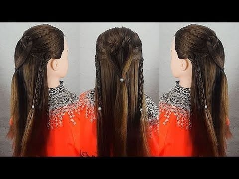 Simple sweet summer hairstyle that you can do in a minute – #the #simple # # can #make