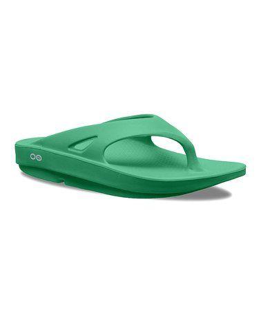 Loving this Seafoam Green Ooriginal Sandal - Unisex on #zulily! #zulilyfinds
