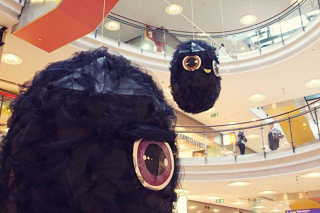 Yellow City Exhibition: Ossi Pirkonen & Maria Candia / Shopping Center Kamppi / 3.9.-16.9.2012