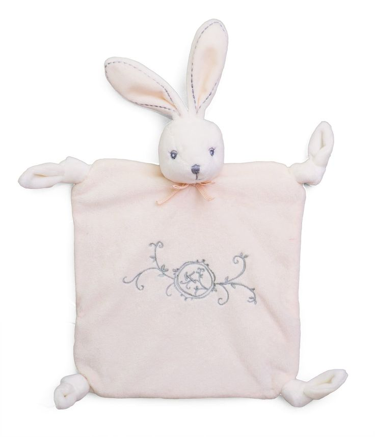 Kaloo Perle Doudou Knots Rabbit (Cream): Amazon.co.uk: Baby