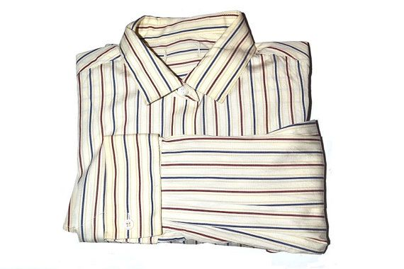 Women's long sleeve striped shirt from the 90s