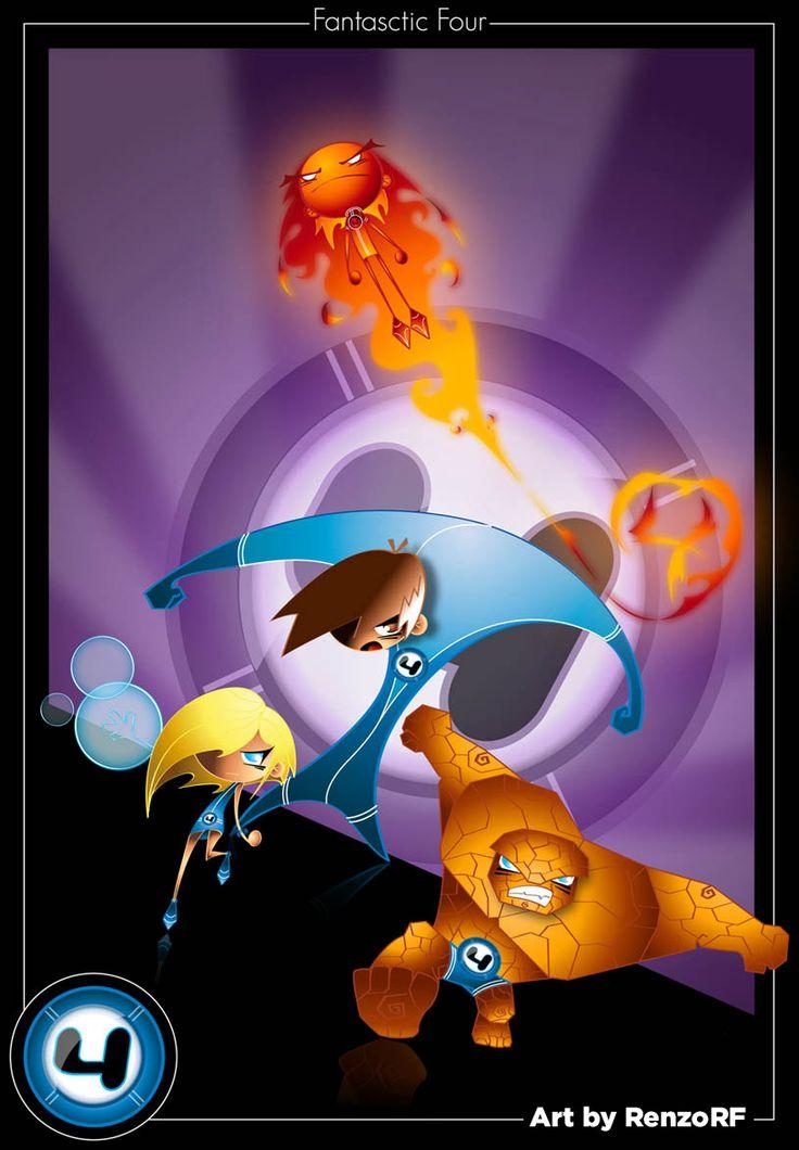 Fantastic 4  #Fantastic4 #Marvel #RenzoRF #2BHeroes