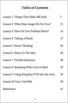 Effective Anger Program (teachable coping skills) - Counselor in the Classroom - TeachersPayTeachers.com