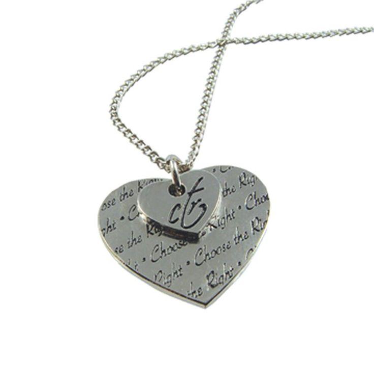 Schön CTR Double Heart Necklace | Valentineu0027s Day On LDSBookstore.com (#RM JNY043