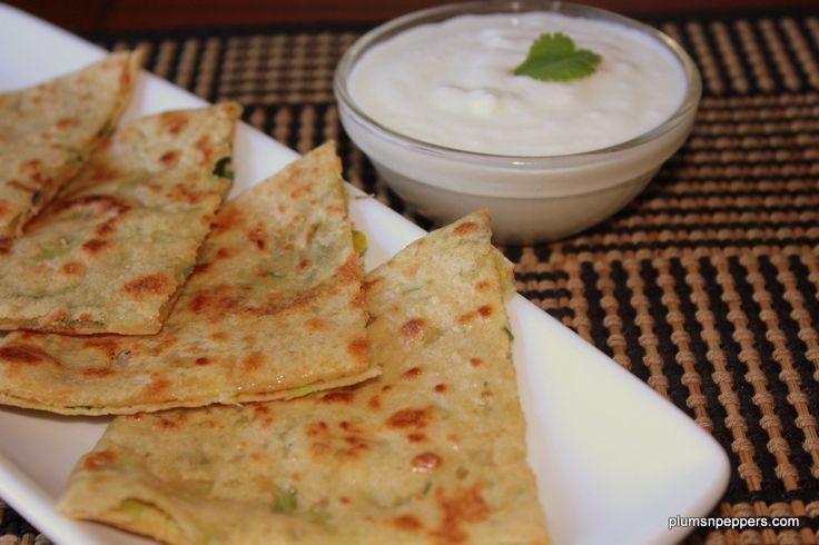 Stuffed cabbage paratha recipe