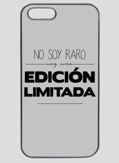"""Funda iphone personalizada """"Edición limitada"""". http://estoymuyvisto.com/?a=151&d=277&c=5"""
