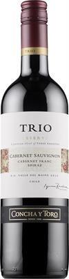 Trio Cabernet Sauvignon Cabernet Franc Shiraz Reserva 2012