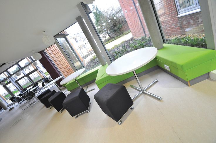 University of Chichester -  Learning Resource Centre: Allermuir Pause stools