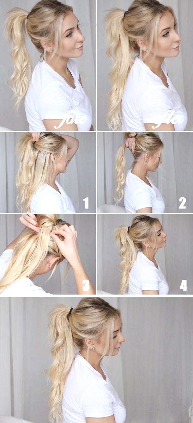 Best Hairstyles for Long Hair – Cool Ponytails – Step by Step Tutorials for Easy… Best Hairstyles for Long Hair – Cool Ponytails – Step by Step Tutorials for Easy Curls, Updo, Half Up, Braids and Lazy Girl Looks. Prom Ideas, Spe ..