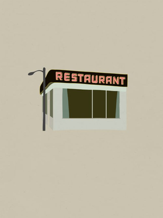 Seinfood Posters by San Francisco-based Rinee Shah | Read more: http://www.dwell.com/articles/Seinfood-Posters.html