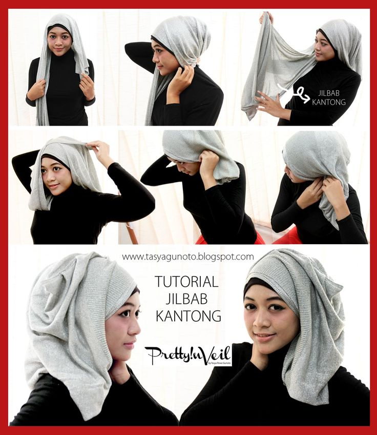 Pretty in Veil: Hijab Tutorial : Jilbab Kantong