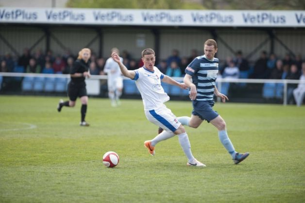 AFC Fylde manager Dave Challinor has warned his players before tomorrow's Evo-Stik Northern Premier League play-off final at home to Ashton ...