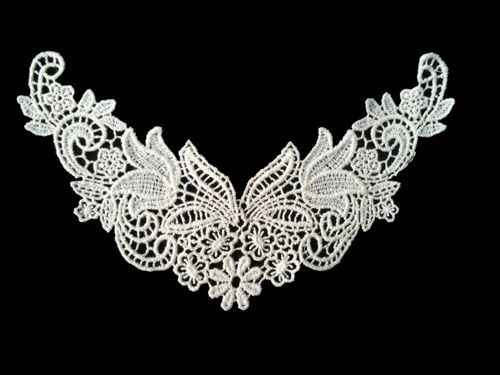 Sewing Material Cotton Chemical Motive Lace Ivory (n005) 1pcs #Ansoyoung