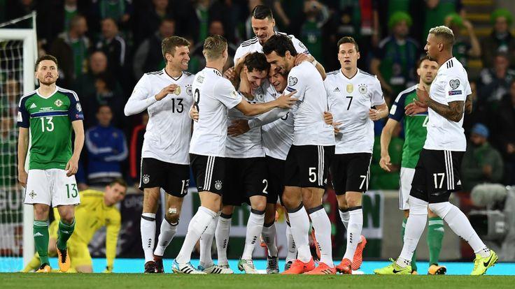 Sieg in Nordirland! WM-Quali perfekt - 3:1! Rudy rummst uns nach Russland - Fussball - Bild.de