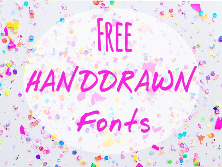 [Download] Free 10 Handdrawn Fonts