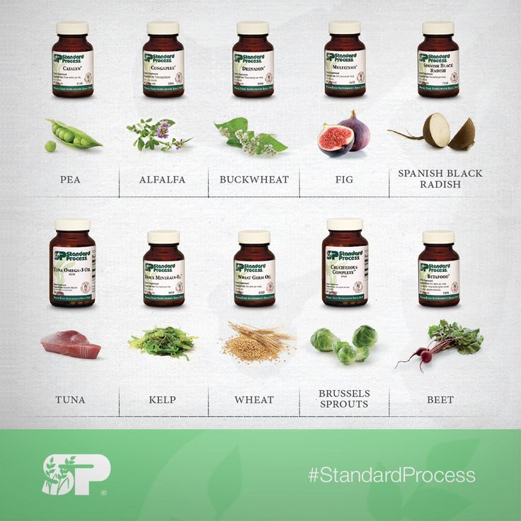 Standard Process Cleanse Food List