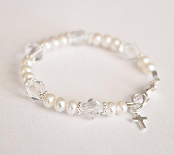Baby Bracelet Freshwater Pearls Bracelet Newborn Bracelet