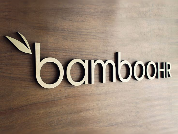 """Here at HRMS World we really do love the @BambooHR signage - wouldn't mind one of those beauties ourselves!"""